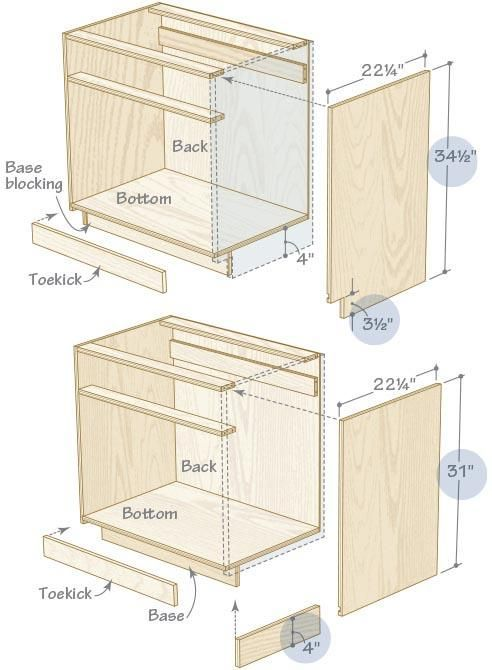 9 Clever Simple Ideas Wood Working Desk Black White Woodworking Cnc Shops Woodworking Techniques The Fami Building Kitchen Cabinets Wood Diy Woodworking Plans