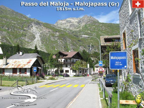 Passo del Maloja (1815 m) - Valico tra Italia e Svizzera