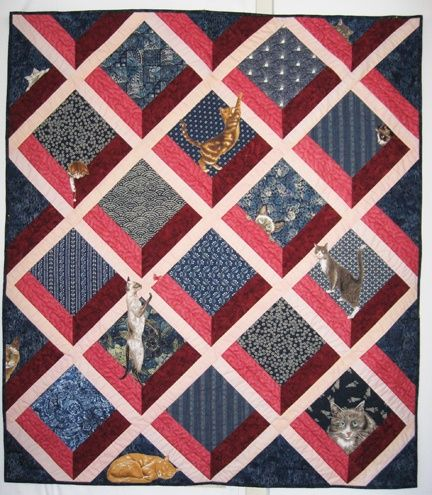 attic window quilt | Attic Windows quilts