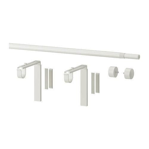 RÄCKA Gardinenstangenkombination  - IKEA  (Wand- und Deckenmontage geeignet!!!) für 8,98 EUR