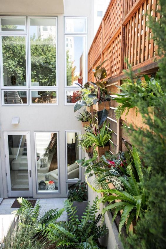 Moderne Deko Idee Bemerkenswert Reihenhaus Ideen 21 Gartenabtrennung