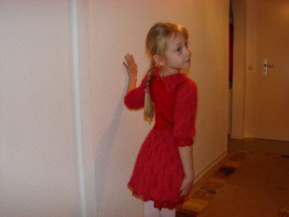 festliches Mädchenkleid von MerNaMode auf DaWanda.com