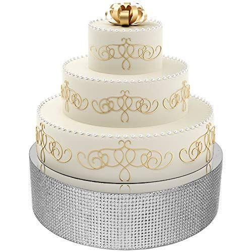 Eleganty Bling Wedding Cake Stand Supports Heavy Multi Https Www Amazon Com Dp B07v Bling Wedding Cakes Make Your Own Wedding Cakes Wedding Cake Stands