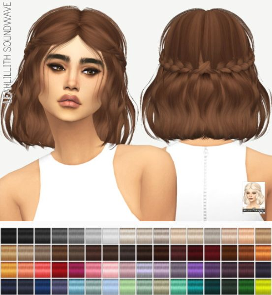 Download Hair: Sims 4, Sims And Hair On Pinterest