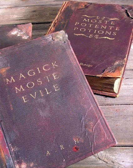 Harry Potter Book Cover Diy : Harry potter style hogwarts library spellbooks