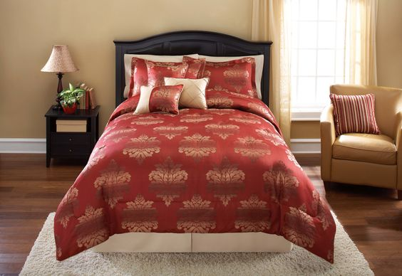 Ombre Damask 7 Piece Comforter Set | Wayfair