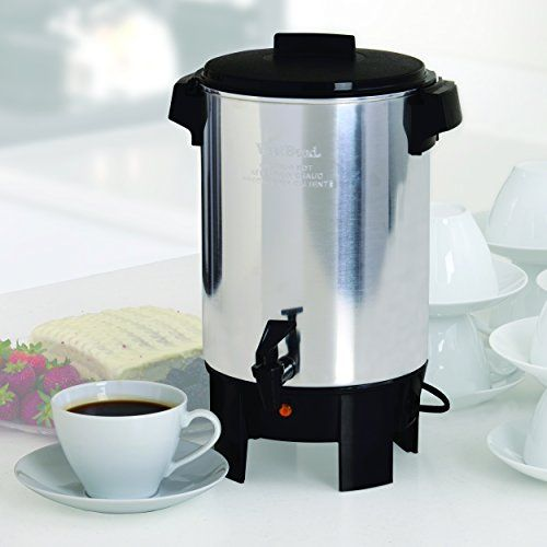 West Bend 58030 12 30 Automatic Party Perk Coffee Urn Coffee Urn 30 Cup Coffee Maker Coffee Maker