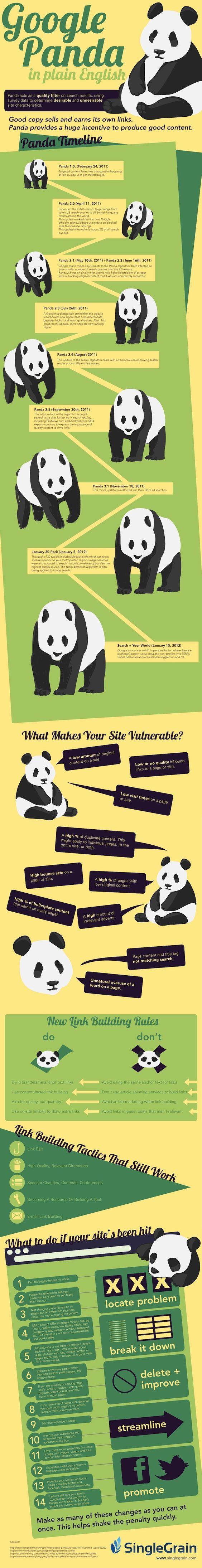 Google Panda for SEO Folks that Aren't Bears