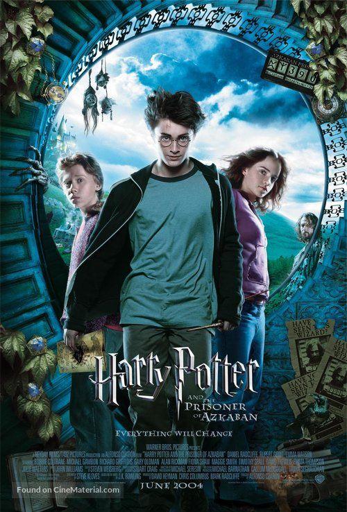 Harry Potter Et Le Prisonnier D Azkaban Film Harry Potter And The Prisoner Of Azkaban 2004 Movie Poster In 2020 Harry Potter Movie Posters Harry Potter Poster Harry Potter Film