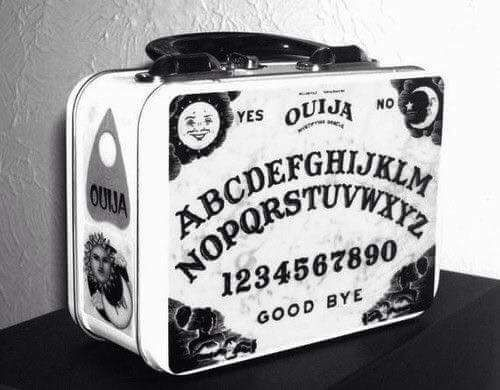 Ouija Board Lunch Box