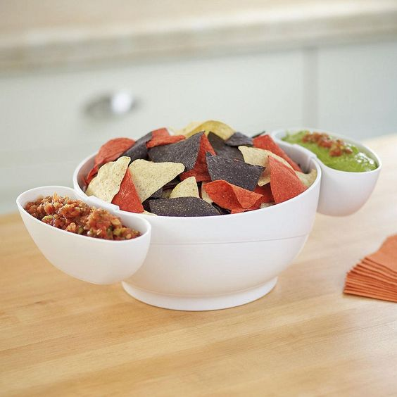 Chip and Dip Bowl Set - $40