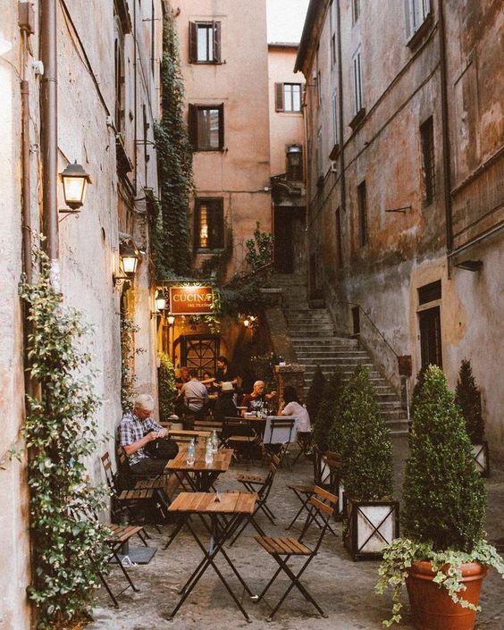 Rome, Italy by Lisa Troyanovskaya