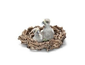 The Baby Eagles in Nest from the Schleich Wildlife collection - Discounts on all Schleich Toys at Wonderland Models.    One of our favourite models in the Schleich Wildlife range is the Schleich Baby Eagles in Nest.    Schleich manufacture wonderful, amazingly accurate models of all sorts of animals, particularly wild animals including this model of the Baby Eagles in Nest which can be complemented by any of the items in the Wildlife Buildings and Accessories range.