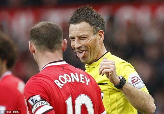 Clattenburg has handed out 19 yellows and one red card in four previous Manchester derbies