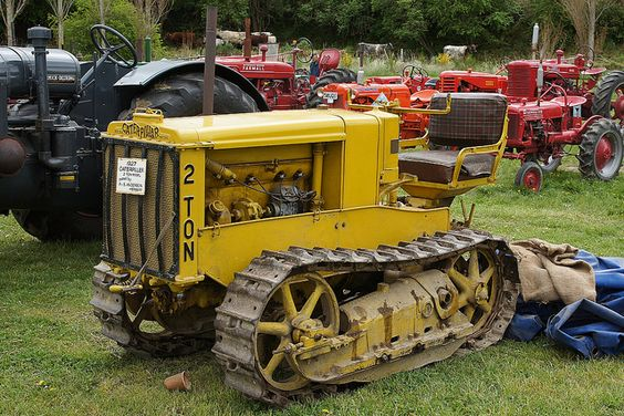 Caterpillar model Two Ton - made in 1920s