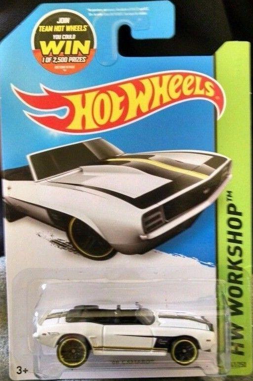 Hot Wheels Hw Workshop 69 Camaro 241 250 Classic Oldies Cars