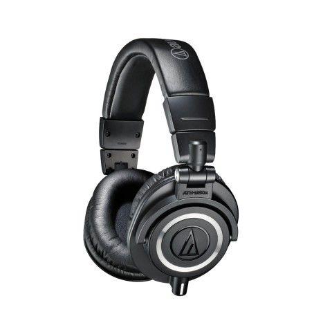 AC Gears - Audio-Technica ATH-M50x Professional Studio Monitors - Headphones - Audio