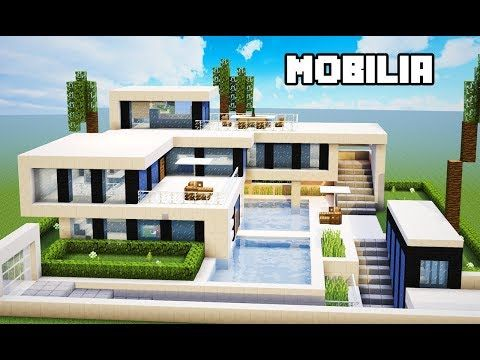 Minecraft Tutorial Mobilia Da Mansao Ultra Moderna Manyacraft