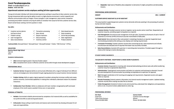 Experience Customer Service Resume Format - http\/\/resumesdesign - resume format customer service