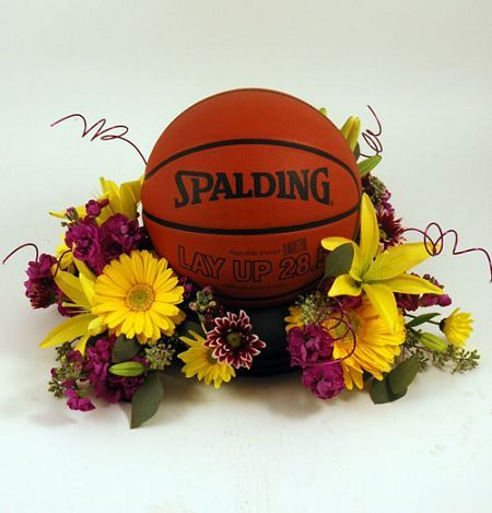 Image result for basketball in flowers