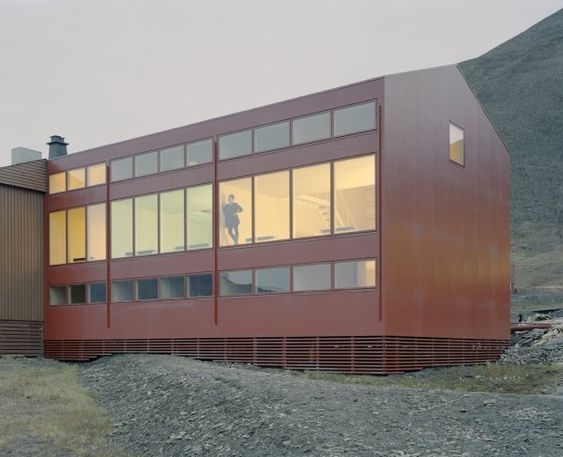 Svalbard Housing | Longyearbyen, Spitsbergen, Norway | Brendeland & Kristoffersen Architects | photo by David Grandorge