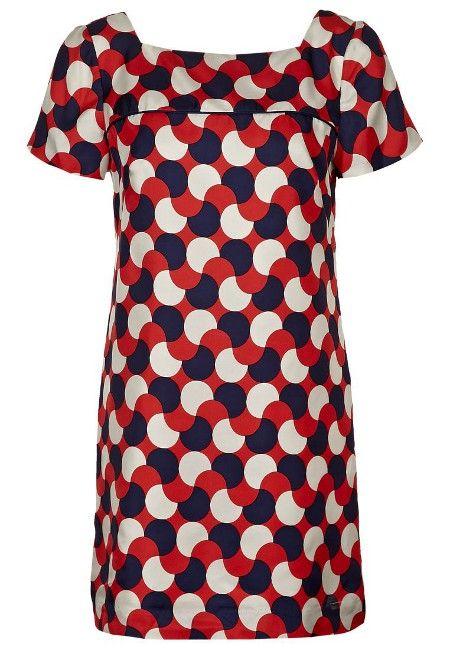 Fashion-Trend Punkte Etuikleid von Milly