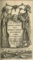 """First woodcut in Hans Holbein's """"Great Dance of Death."""""""