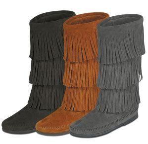 Calf Hi 3 -Layer Fringe Boot for Women - product summary - Bing Shopping