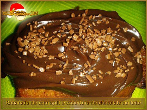 Rabanadas com cobertura ou recheadas com Chocolate ao Leite. Sabor e qualidades garantidos para o seu Natal.