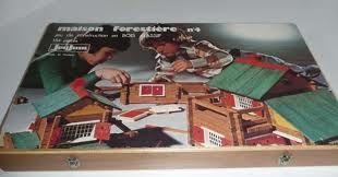 Construção de casas em madeira...uma folia em França na minha infância