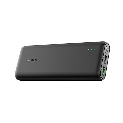 PowerCore 20000 with Quick Charge 3.0, Anker's First Qualcomm Quick Charge 3.0 Portable Charger, Backwards Compatible with All Versions of Qualcomm Quick Charge, For Samsung, iPhone, iPad and more