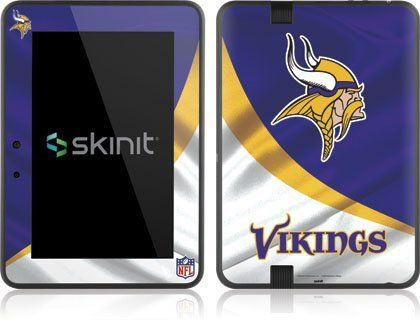 Skinit Minnesota Vikings Vinyl Skin for Amazon Kindle Fire HD 7 by Skinit. $19.99. IMPORTANT: Skinit skins, stickers, decals are NOT A CASE. Our skins are VINYL SKINS that allow you to personalize and protect your device with form-fitting skins. Our adhesive backing can be applied and removed with no residue, no mess and no fuss. Skinit skins are engineered specific to each device to take into account buttons, indicator lights, speakers, unique curvature and will not inte...