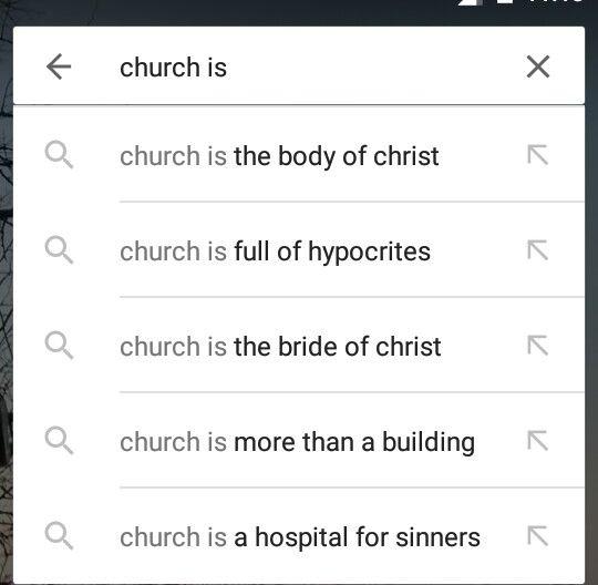 Inspired by Faith: The Church is...