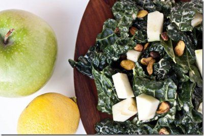 Delicious, simple, and oh-so-good-for-you, kale salad.  =)!