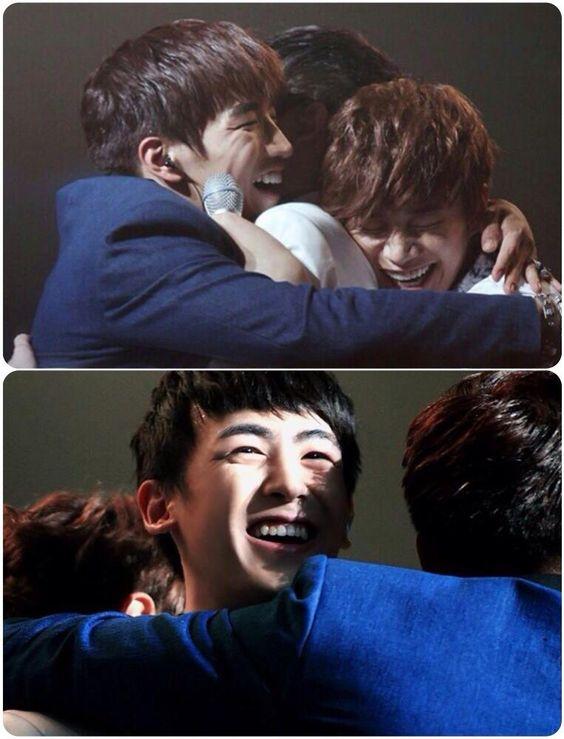 2pm's hug =)