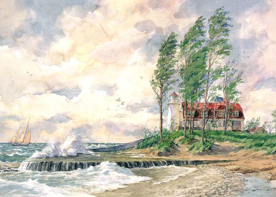 Kathleen Chaney Fritz watercolor
