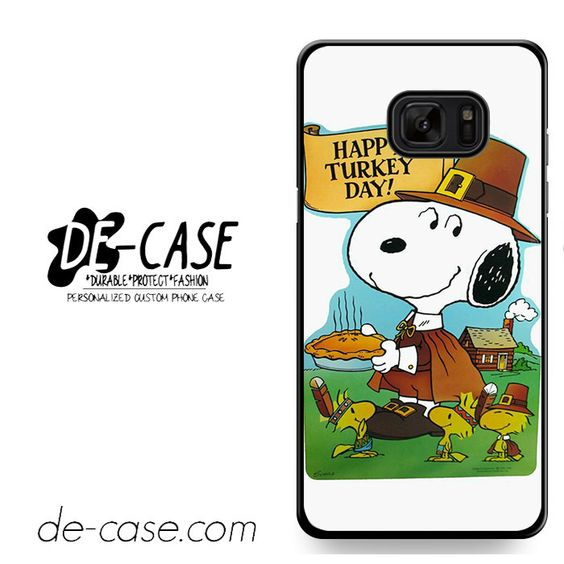 Snoopy Happy Turkey Day DEAL-9759 Samsung Phonecase Cover For Samsung Galaxy Note 7