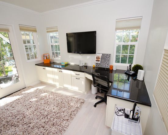 Home Office Exercise Room Design Pictures Remodel Decor And