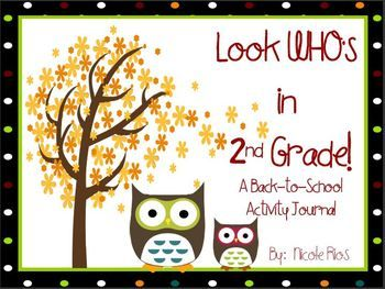 This 2nd grade Back-To-School journal includes 1st grade ELA and MATH skills REVIEW, and a fun writing topic for the first ten days of school. $