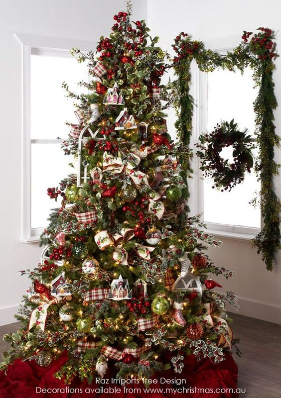 Tendencias para decorar tu arbol de navidad 2016 2017 - Como decorar el arbol de navidad 2015 ...