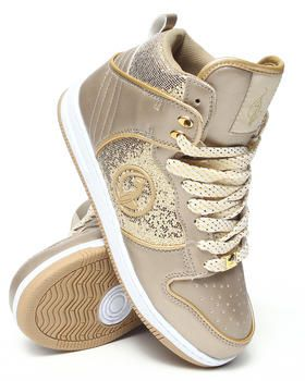 Buy Gina Glitter Hi-Top Sneaker Women's Footwear from Baby Phat. Find Baby Phat fashions & more at DrJays.com