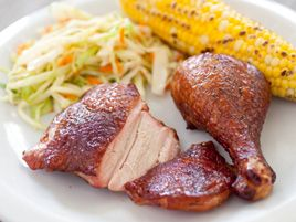 Smoked Chicken - Cooks Illustrated