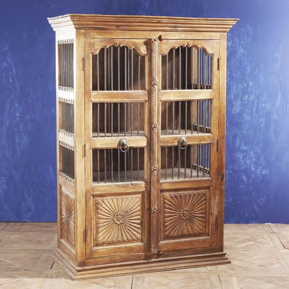 Indian Sunburst Cabinet  ITEM NUMBER K6739  $1999
