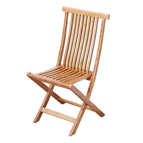 Dqmsb Folding Portable Bamboo Chair Solid Bamboo Sofa Chair Back Chair Beach Chair Recliner Chair Size 3558cm Bamboo Chair Bamboo Sofa Chair