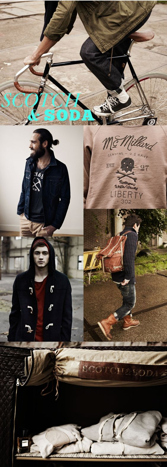 Scotch & Soda #fashion #men