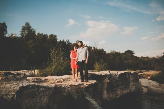 Britt & Stephen McKinney Falls Engagement Portraits | Austin Wedding Photographer | BRIANA PURSER
