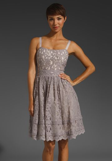 Alice by Temperley Surya Tank Dress (I think this dress would look better if it was strapless...)