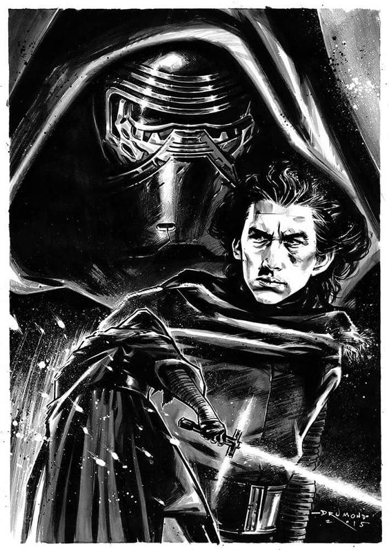 Kylo Ren | Drumond Art: