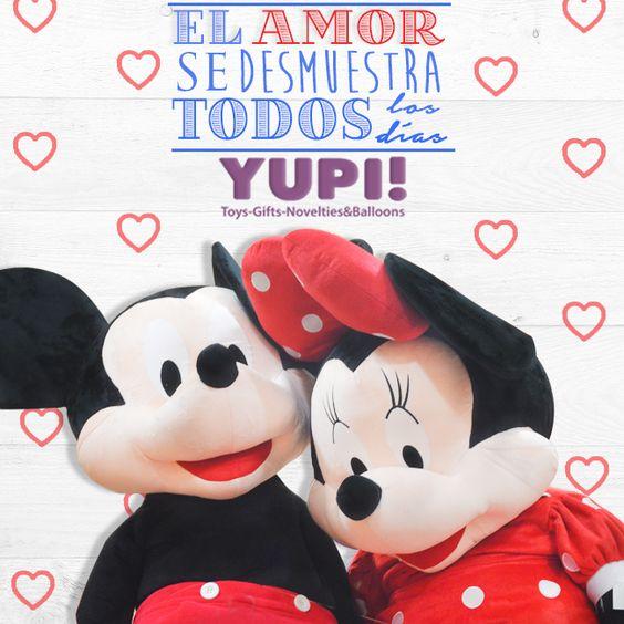 El amor se demuestra todos los días y qué mejor que demostrarlo con un gran detalle... #DiloConYupi! #Yupi!