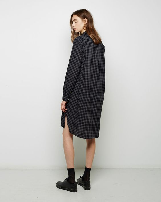 ISABEL MARANT ÉTOILE | Rane Gingham Shirtdress | Shop at La Garçonne